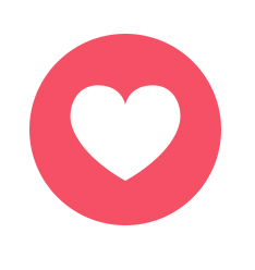 how to do a clear love heart on facebook